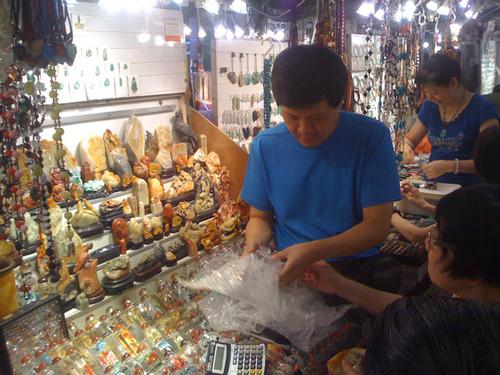 香港尋石–玉器市場354號-7