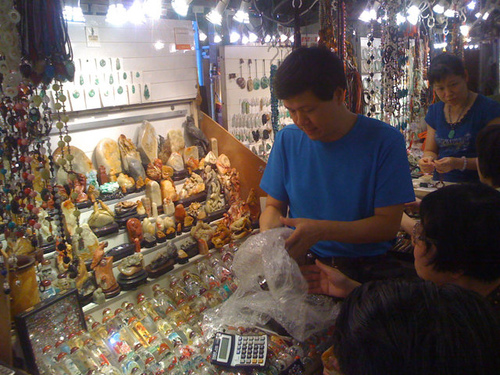 香港尋石–玉器市場354號-8