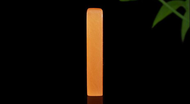青海桃紅凍-素體正方章