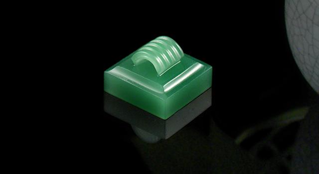 四川雅安綠-瓦鈕正方章