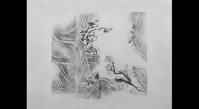 壽山石杜林晶-薄意山間訪賢章正對章