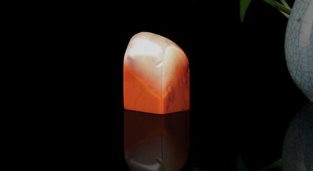 (10月17號重陽節免費送)老撾水洞硃砂-素體日形章