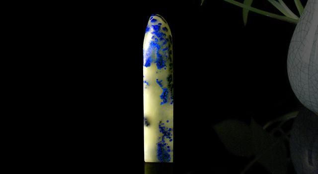 浙江青田藍星石-素章日形章