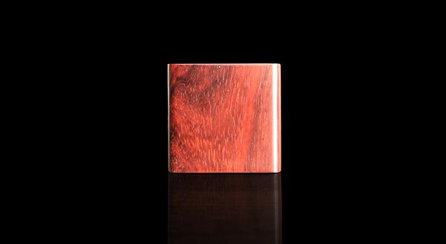 (已讓)紫檀木高油密老料-戒指文盒