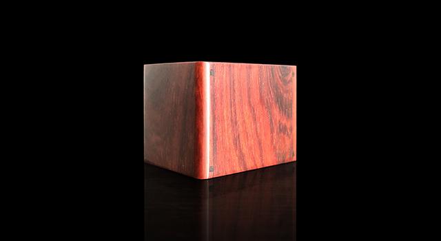 紫檀木高油密老料-戒指文盒