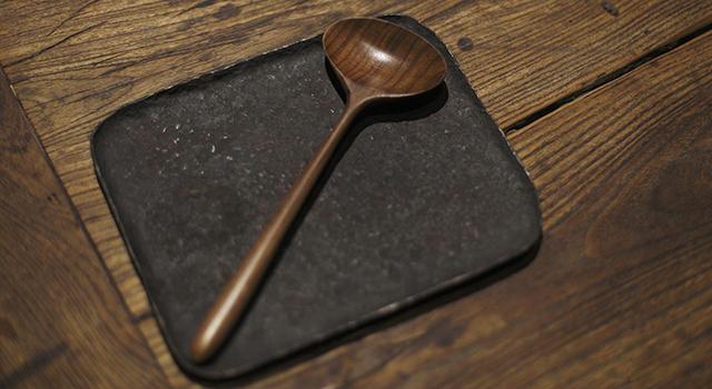 (已讓)胡桃木-香道茶道文器勺子
