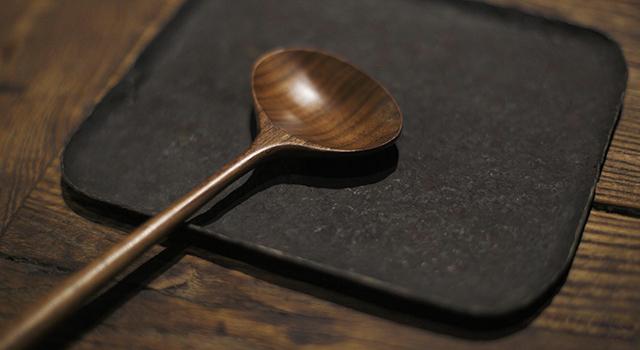 胡桃木-文器勺子
