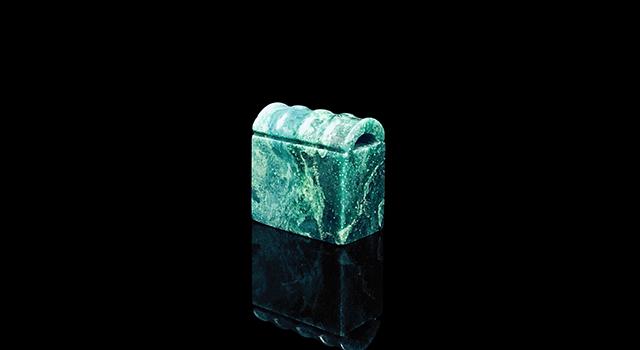 廣東孔雀緣-瓦鈕日形章
