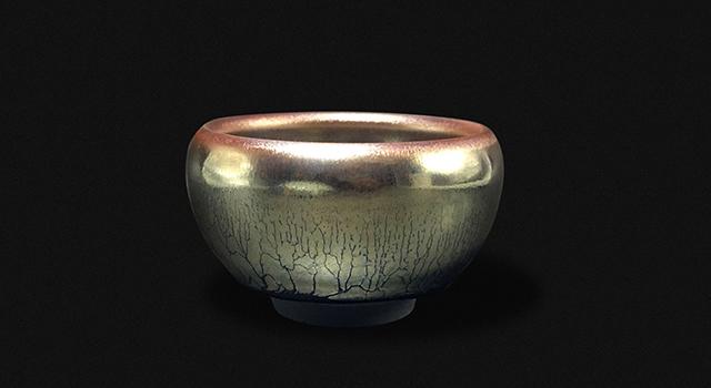 (已讓)永吉建盞-波體禪定杯