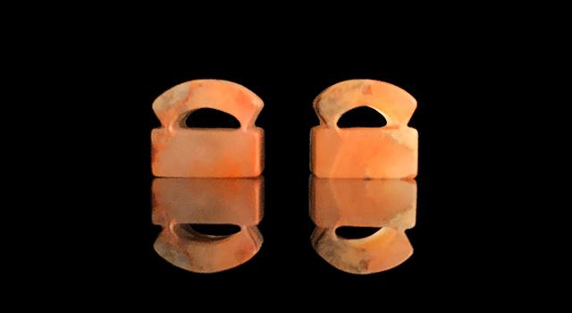 老撾玻璃凍-素體正方章