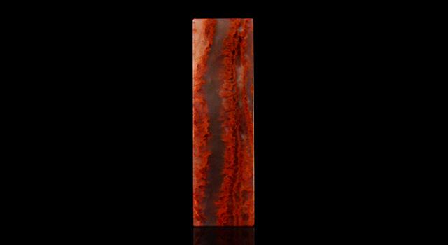 (樣品)壽山石高山水洞晶-素體六平章