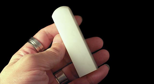 雲南奶油白-素體正方章