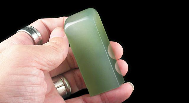 丹東終綠晶-素體日形章