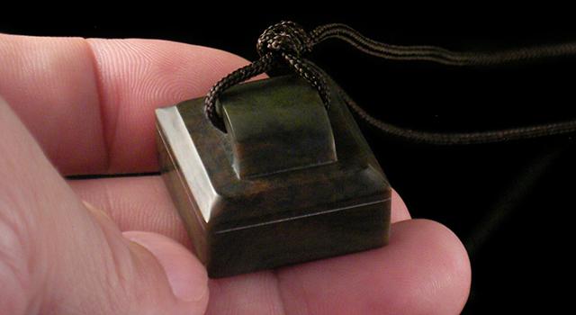 西安迷彩綠-瓦鈕正方章
