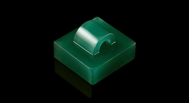 四川雅安綠-仿古鈕正方章