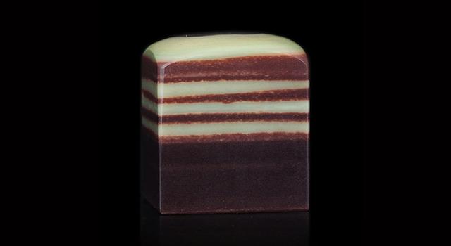 (已贈)廣西貴州石-素體紫袍玉帶正方章