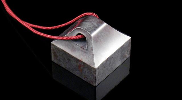 (5月1號勞動節免費送)昌化青銅灰-瓦鈕正方章 (傘松)
