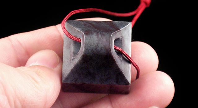 昌化青銅灰-瓦鈕正方章