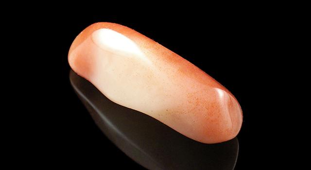 壽山桃花芙蓉晶-素體原石胎